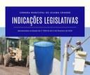Indicações Legislativas de 11 de Fevereiro de 2020